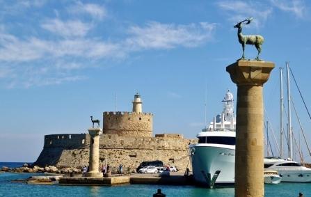 Rhodes-medeltidsstad